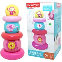 Fisher-Price 费雪 F0919 彩虹叠叠球 粉色