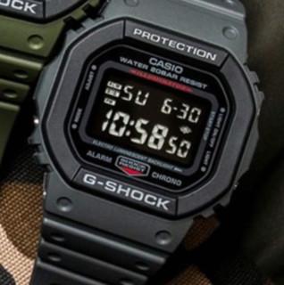 CASIO 卡西欧 G-SHOCK系列 43.8毫米电子腕表 DW-5610SU-8