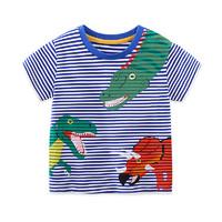 I.K 印象童年 男童卡通恐龙短袖T恤