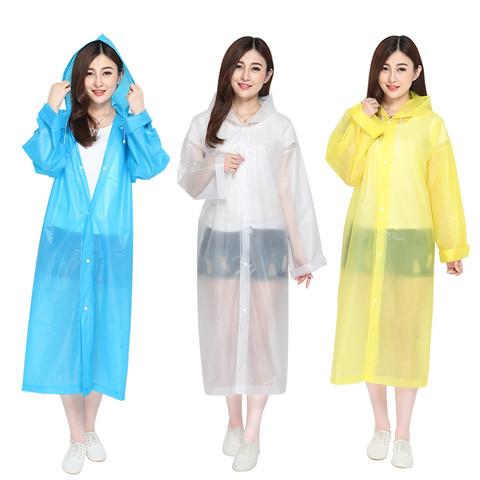 雨衣加厚长款成人单人学生耐磨防暴雨时尚透明男女款全身加大雨披