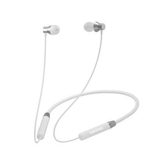 Lenovo 联想 HE05 旗舰版 入耳式颈挂式蓝牙耳机 皓月白