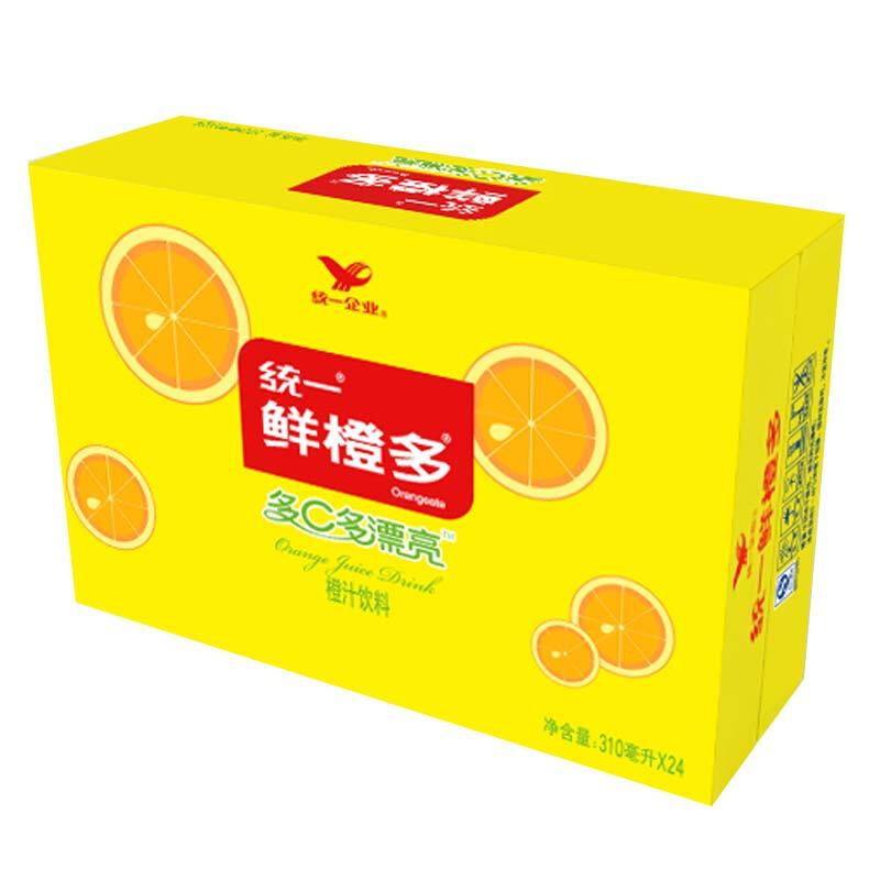 鲜橙多 罐装橙汁 310ML*24罐 整箱装