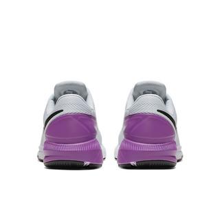 NIKE 耐克 Air Zoom Structure 22 男子跑鞋 AA1636-009 灰紫 41