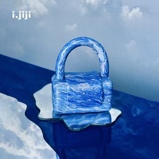 WARMSTUDIO 古良吉吉 i.jiji三色陶陶包早春小众设计师女包古良吉吉 花陶-日出南极