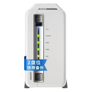 威联通(QNAP) TS-212P3 2盘位NAS网络存储器 四核心处理器 TS-212P3 TS-212P3(空机)