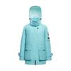 BOSIDENG 波司登 运动系列 女士鹅绒羽绒服 B00143222 541A 冰雨蓝 糙白 165/88A