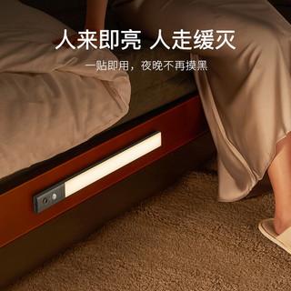 【明星同款】EZVALO·几光无线感应灯PRO人体感应家用过道led免走线双色温充电式智能厨房橱柜灯 460mm无线感应灯PRO-深空灰