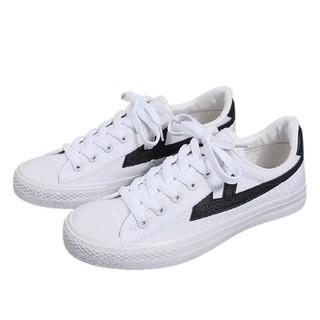 WARRIOR 回力 中性运动板鞋 WXYA109T 黑/白 36