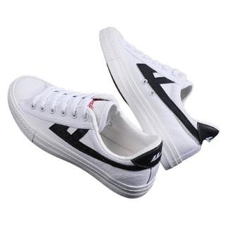 WARRIOR 回力 中性运动板鞋 WXYA109T 黑/白 41