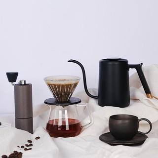 网易严选 移动的咖啡馆 咖啡手冲礼盒七件套 磨豆器
