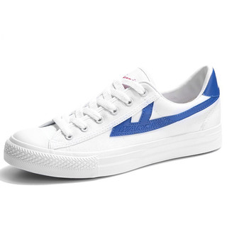 WARRIOR 回力 中性运动板鞋 WXYA109T 蓝/白 35