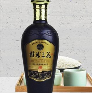 桂林三花 M6 52%vol 米香型白酒 500ml*4瓶 礼盒装