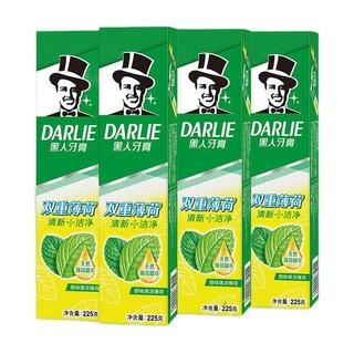 DARLIE 黑人 双重薄荷牙膏 225*4
