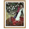 夏加尔 石版画《三支蜡烛》法国进口限量版画 94*75 版画纸 295件