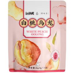 inWE 因味 白桃乌龙茶 7包