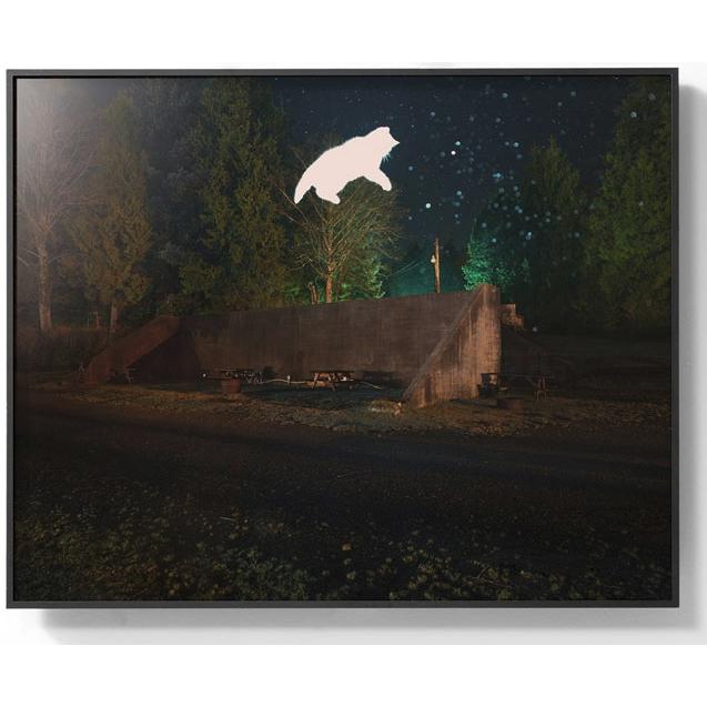 PICA Photo 拾相记 Benoit Paillé 午夜飞行 30 x 33 cm 无酸装裱  限量50版