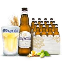 临期品:Hoegaarden 福佳 啤酒小麦白啤酒 330ml*12瓶