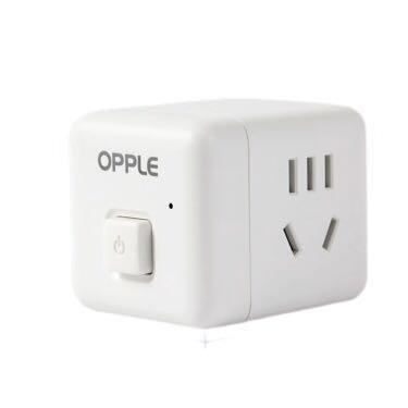 OPPLE 欧普照明  魔方多功能插座 2面五孔+无线