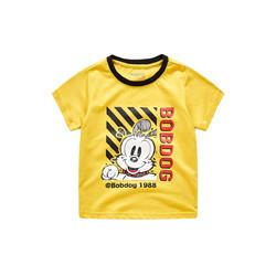 BoBDoG 巴布豆  B92ZT611 男童短袖T恤