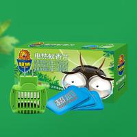 SUPERB 超威 艾草清香电蚊香片 90片 + 1器