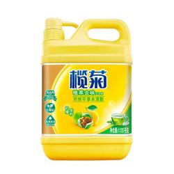 榄菊 柠檬茶籽洗洁精1.125kg*3瓶