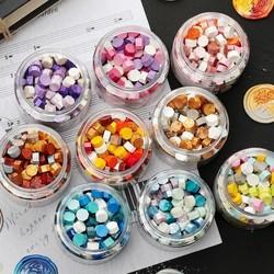 珠光混色八角火漆蜡粒 多款可选