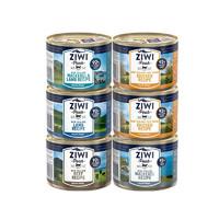 ZIWI 滋益巅峰 主食猫罐头 185g*6罐