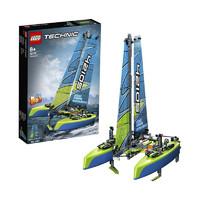 12日10点、黑卡会员:LEGO 乐高 Technic科技系列 42105 漂浮双体船