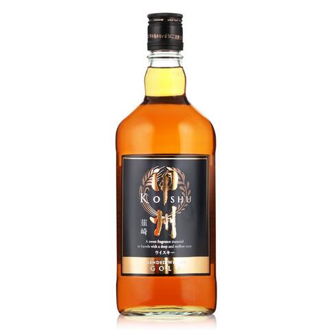 甲州威士忌(Koshu)韭崎韮崎 日本原瓶进口洋酒烈酒 日威入门经典 三得利 700ml