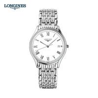 LONGINES 浪琴 律雅系列 L4.759.4.11.6 男士石英腕表