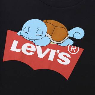 Levi's 李维斯 Pokémon联名系列 59194-0005 男士印花短袖T恤