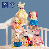 英国伊维诗乐 evoceler 婴儿安抚毛绒玩具 尤里卡狮子