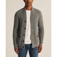 Abercrombie & Fitch 306964-1 男装长袖针织开衫