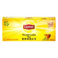 Lipton 立顿 黄牌精选红茶 25包
