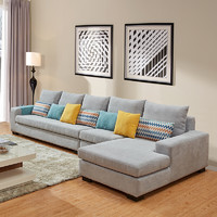 ZUOYOU 左右家私 DZY3609 可拆洗棉麻布沙发 转二件+休单