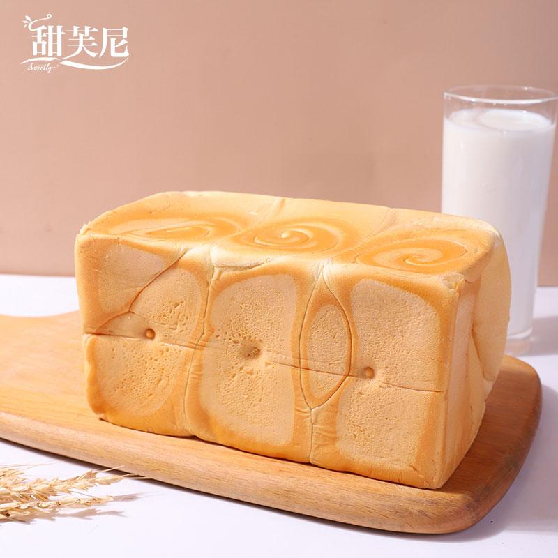 甜芙尼  纯奶手撕面包  215g