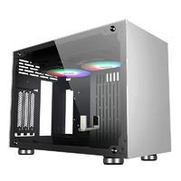 FSP 全汉  CST410 ITX机箱 银色