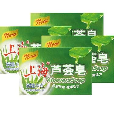 SHANGHAI 上海 高级芦荟皂 130g*4块