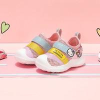 Hello Kitty 凯蒂猫 21夏季儿童新款童鞋女童中童休闲运动鞋