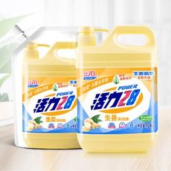 活力28 生姜洗洁精 1.28kg/瓶+1kg/袋