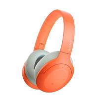 SONY 索尼  WH-H910N 头戴式蓝牙耳机 橘色
