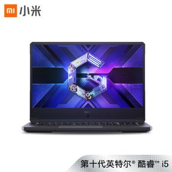 MI 小米 Redmi G 轻薄游戏本 16.1英寸 第十代英特尔酷睿i5-10200H 16G 512G PCIe GTX 1650Ti 100%sRGB