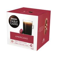 Nestlé 雀巢 Nestle多趣酷思 美式经典原味胶囊咖啡16颗/盒