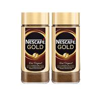 Nestlé 雀巢 瑞士原装金牌咖啡粉 100g/罐*2 升级新包装