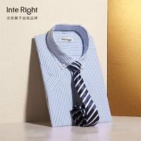 InteRight  男士休闲时尚短袖衬衫