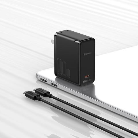 BASEUS 倍思 GaN2氮化镓快充充电器100W 单C口 充电套装