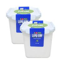 TERUN 天润 低温润康方桶 酸奶 1kg*2桶