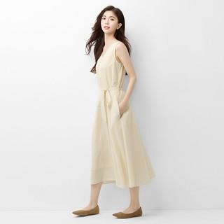 lativ 诚衣 17日0点:52260 女士纯棉无袖连衣裙