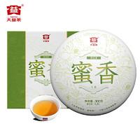 TAETEA 大益 普洱茶叶 蜜香生茶茶饼 300g