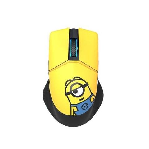 MACHENIKE 机械师 M800小黄人联名款 无线鼠标 4000DPI RGB 小黄人
